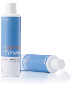 poudre smooth prophylaxie dentaire aeropolissage mectron carbonate